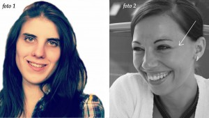 2 different smiles